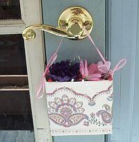 Make a pretty May Day basket