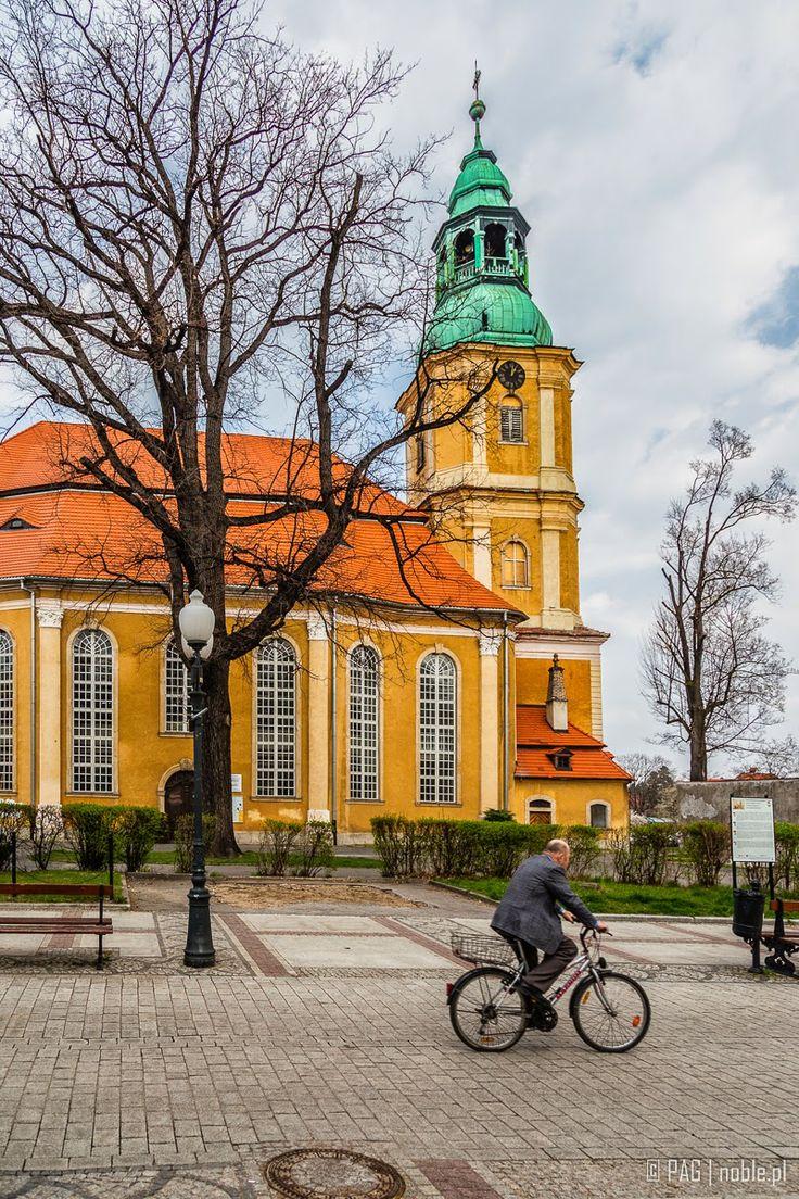 Lutheran church in Cieplice Slaskie-Zdroj (Bad Warmbrunn) near Jelenia Gora (Hirschberg), Poland