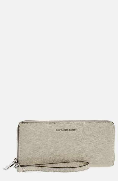 MICHAEL Michael Kors 'Mercer' Leather Continental Wallet…  http://www.delladetrends.win/2017/08/07/michael-michael-kors-mercer-leather-continental-wallet/