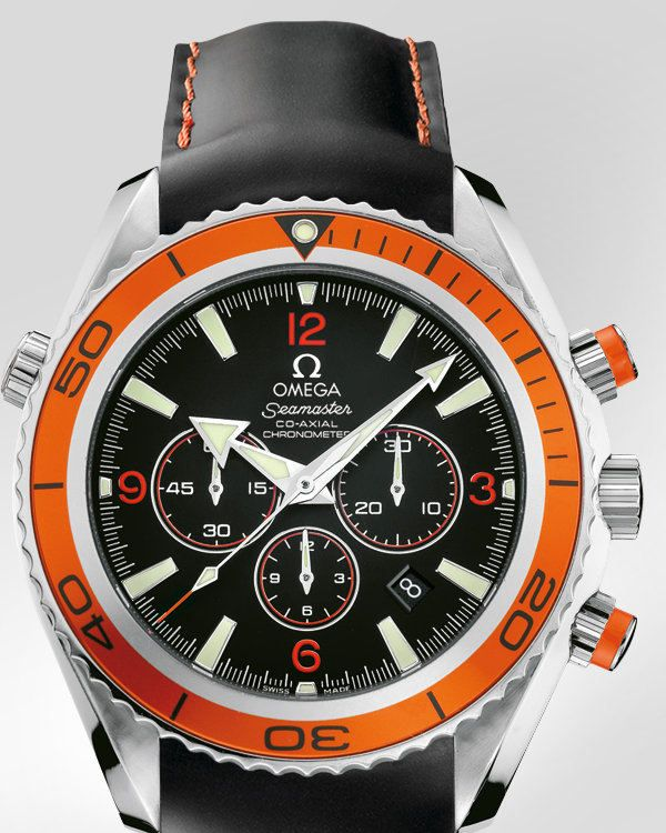 Alta calidad de la copia Omega Seamaster Planet Ocean 600 M Co -Axial Cronógrafo 45,5 mm - Correa de caucho - 2918.50.82 - €169.26 : réplicas de relojes Omega, omegawatchesonsale.com