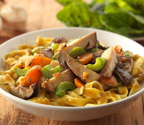 Recept:pasta met saus van eekhoorntjesbrood - Life MAGAZINE