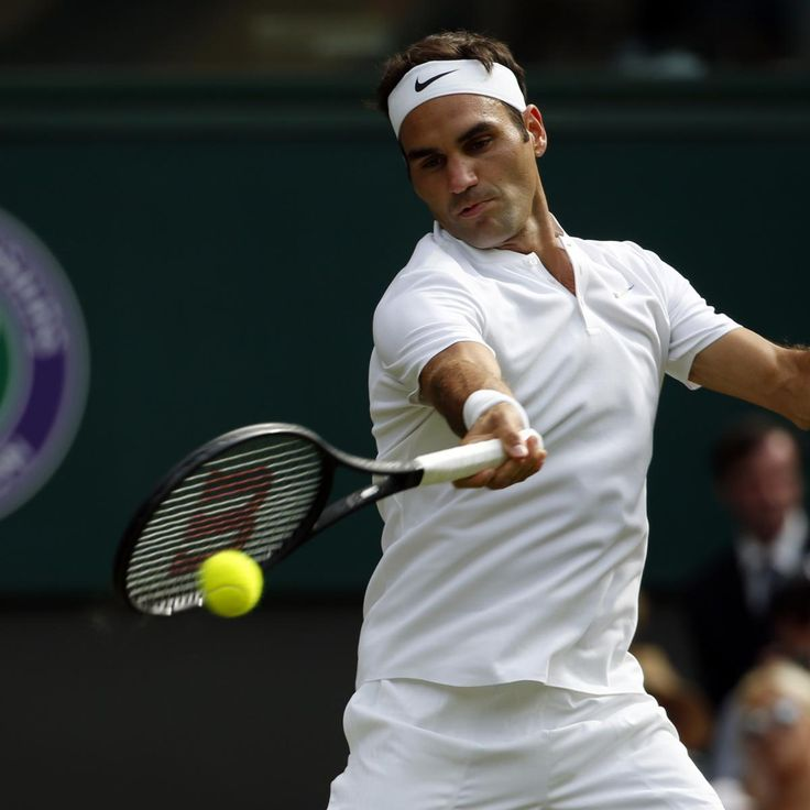 Roger Federer Wins as Alexandr Dolgopolov Retires in 1st Round of 2017 Wimbledon | Bleacher Report