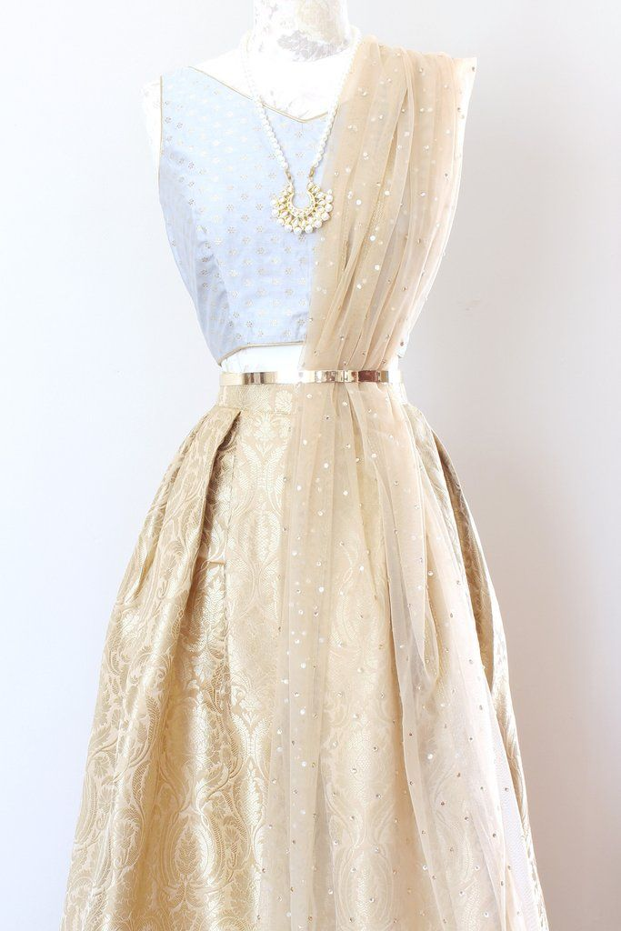 Gilded Skirt - Gold More