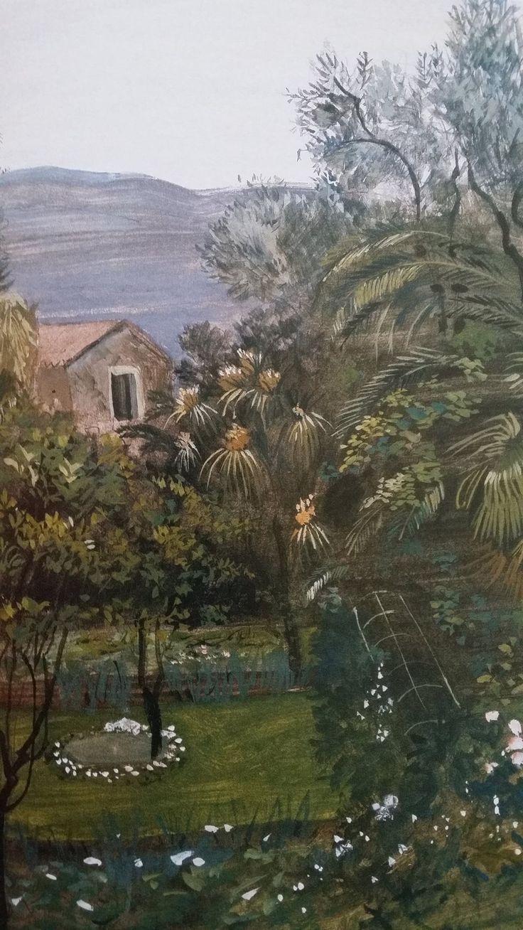 Ο κήπος του Τεριαντ στο ST.JEAN CAP FERRAT. Τσαρούχης