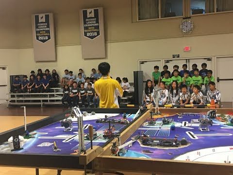 FIRST LEGO League 2018 Into Orbit Scrimmage - Check out