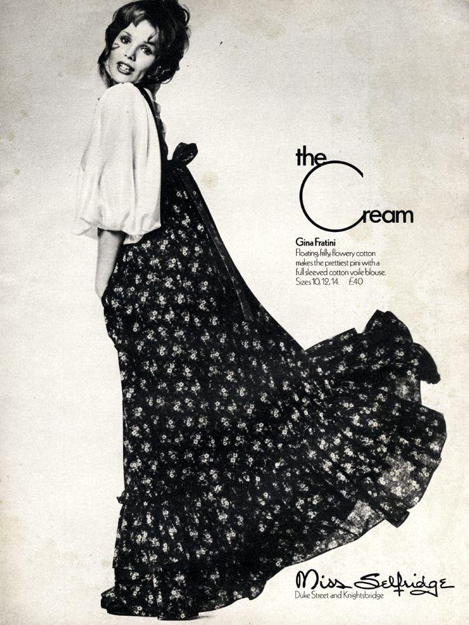 Cosmopolitan, April 1972, the Gina Fratini