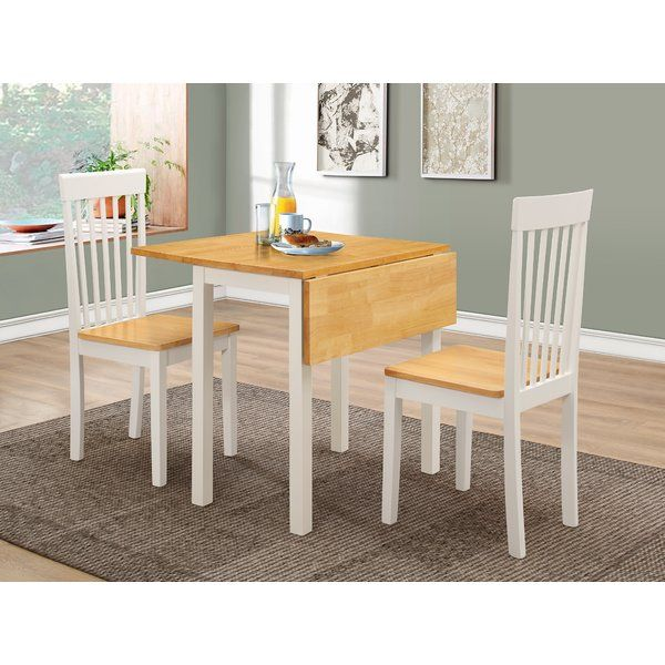 Cantu Dining Set With 2 Chairs Dining Table In Kitchen Dining Furniture Sets Small Glass Dining Table