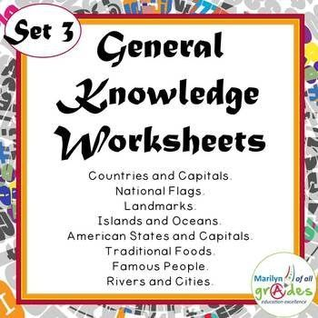 My Fill-er-in-er-ers contain 10 pages of mainly geography based general knowledge questions. There are various types of activities, most of them require the students to conduct research and find answers to the questions. We all have the lessons that finish 5 or 10 minutes before breaks, there is