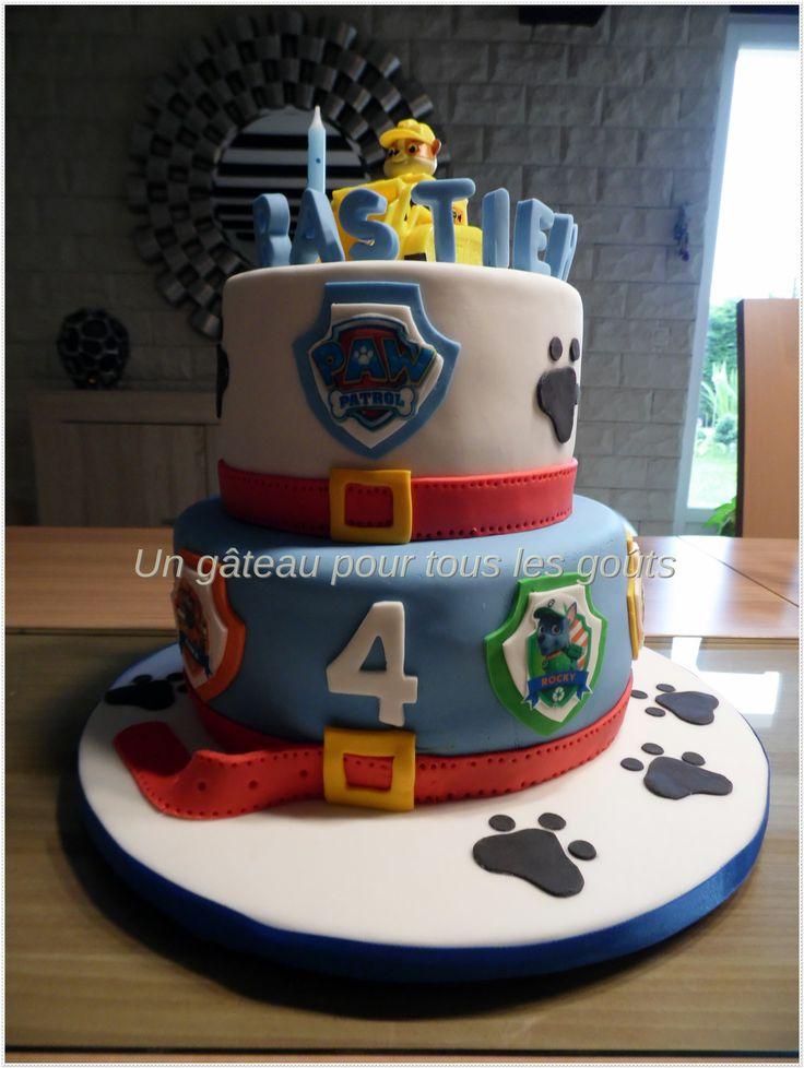 CAKE OF PAW PATROL LA PAT PATROUILLE