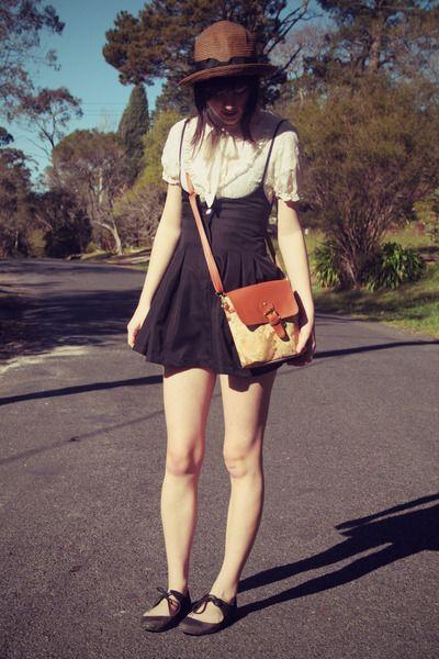 Dark-brown-wholesale-hat-burnt-orange-world-print-bag-wholesale-bag