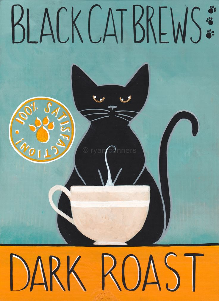 Black Cat Brews Dark Roast by Ryan Connors