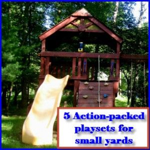 Playsets For Small Yards