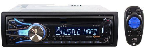 JVC Refurbished KD-HDR61 Single-DIN Car Stereo w/ HD Radio, iPod and iPhone Compatibility