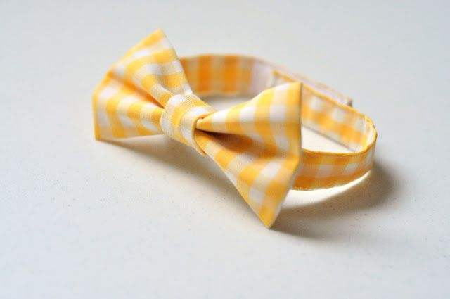The velcro bow tie tutorial; can also make double bow tie by using 2 of the bow pieces & sewing in middle.
