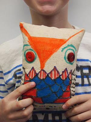 new city arts.  This is a fabulous blog. Soft sculpture lesson to combine with story writing