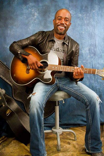 Darius Rucker front man from Hootie and the Blowfish.