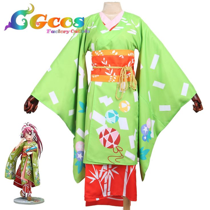 ==> [Free Shipping] Buy Best CGCOS Free Ship Cosplay Costume Puella Magi Madoka Magica Kyoko Sakura Sakura Kyouko Kimono Halloween Christmas Party Anime Game Online with LOWEST Price | 32814117114