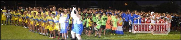 Abertura da Copa Sul Americana de Futebol Águas Claras teve abertura nesta sexta-feira, 27