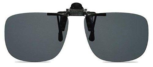 272359586cd Wangly Polarized Unisex Clip-on Flip-Up Sunglasses