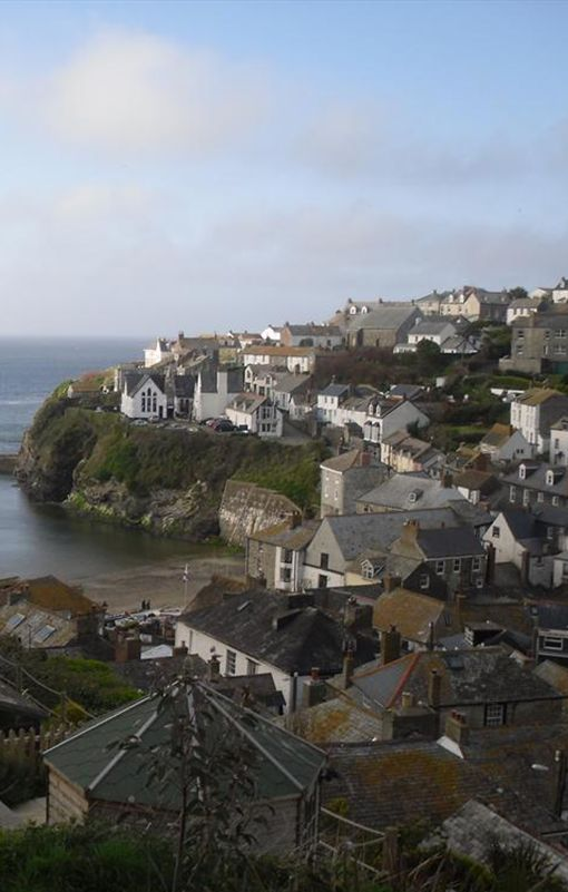 Port Isaac, North Cornwall, England, UK: