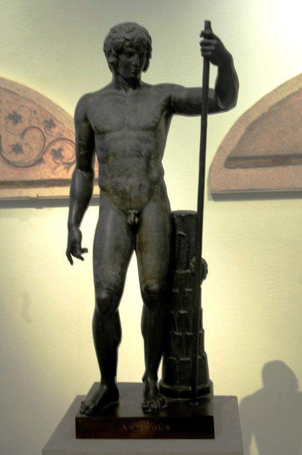 Antínoo, el amado de Adriano.