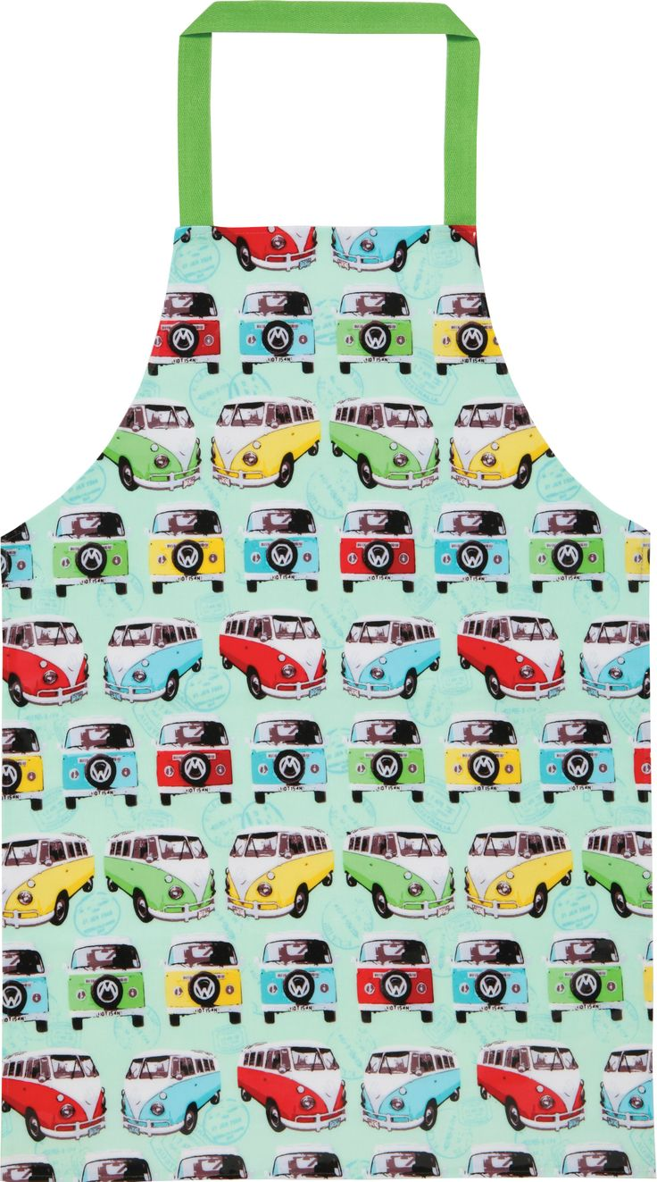 Make the teens look great in the kitchen with this CamperVan PVC apron. Get the whole family involved in the cooking fun!