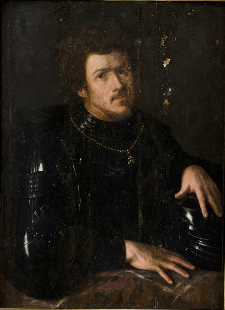 Sebastiano del Piombo Italian, Portrait of Charles the Bold, 1500-1547 TECHNIQUE Oil on panel REFERENCE KMSsp142