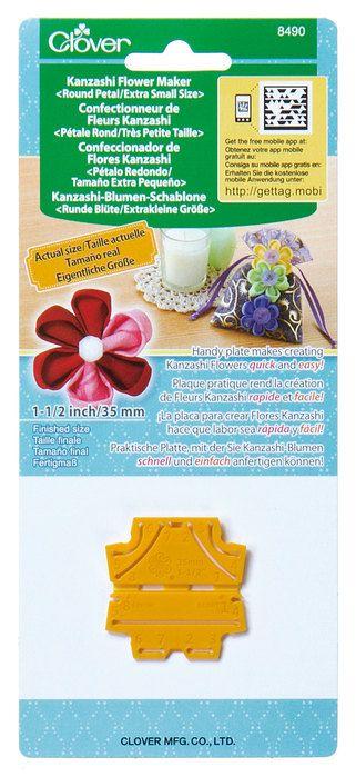 Clover Kanzashi Flower Maker Round Petal Extra Small Part No.