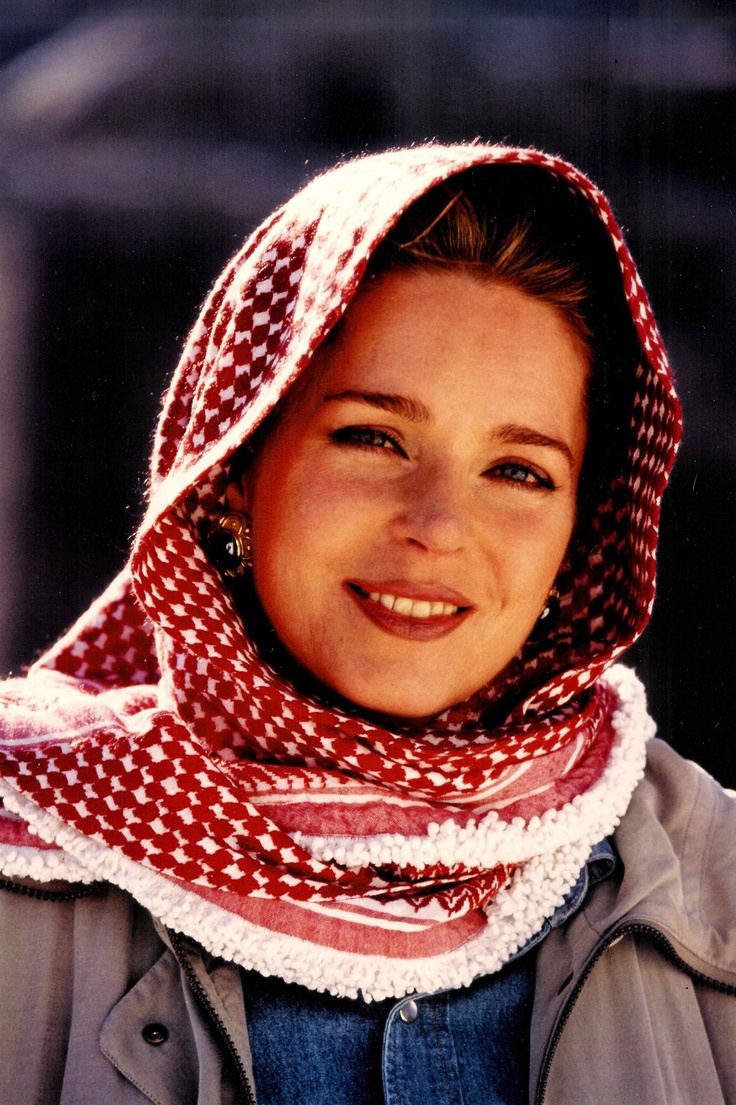 Queen Noor of Jordan - she has led a fascinating life and was born in America
