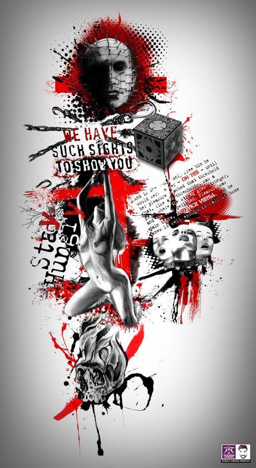 Digital Trash Polka Tattoo Project