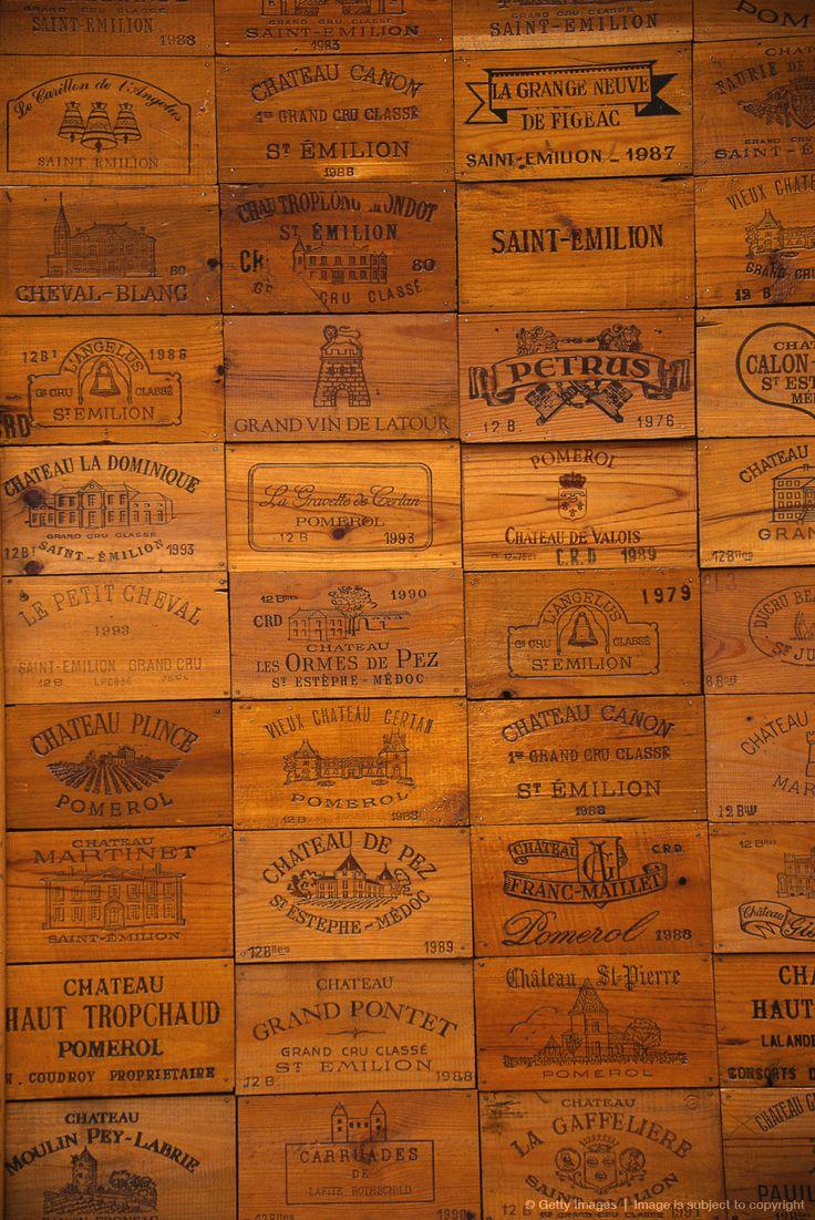 Vintage Wine Crate Panel Wall Vintage And Rustic Wine