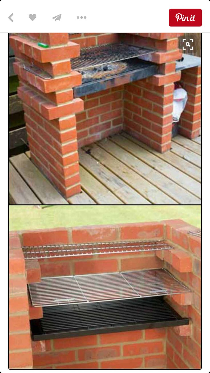 Pin By Herney Justinico On Outdoor Living Brick Bbq