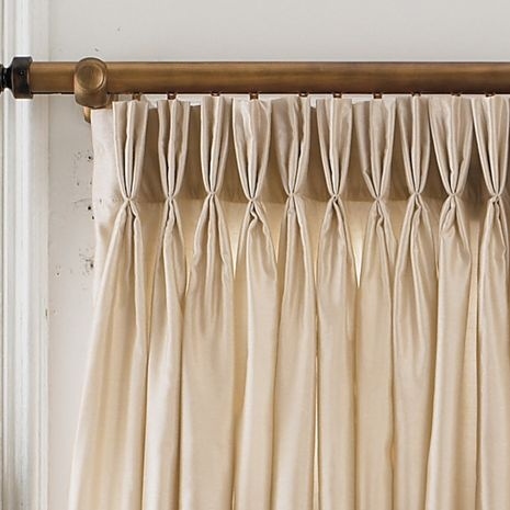 Chris Madden® Mystique Pinch-Pleat Curtain Panel Pair - jcpenney