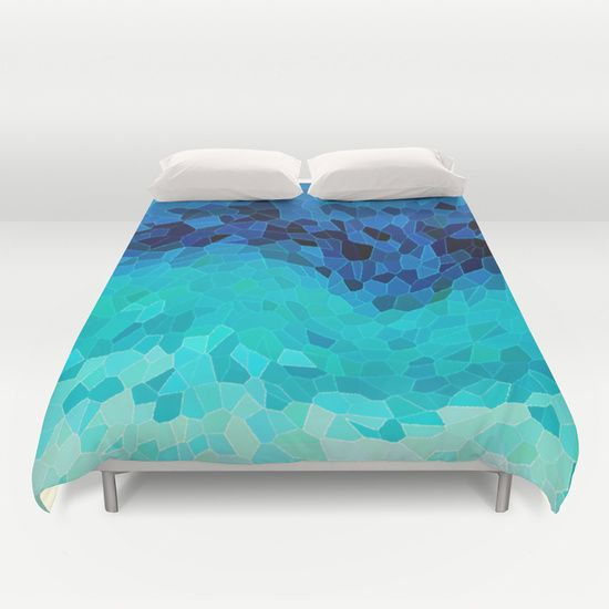 Buy ultra soft microfiber Duvet Covers featuring INVITE TO BLUE by Catspaws. Hand sewn and meticulously crafted, these lightweight Duvet Cover vividly feature your favorite designs with a soft white reverse side.