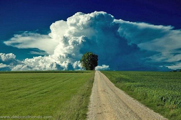 As nuvens são incríveis por natureza.    Mas essas superam as expectativas.    São formações totalmente diferentes, algumas são devido a fenômenos naturais específicos.  Outras são apenas esquisitices da natureza.