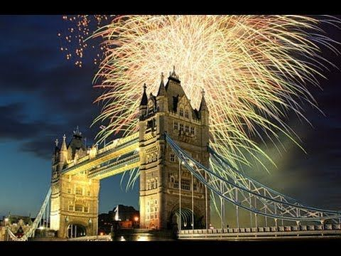 London New Year's Eve Fireworks. A Breath-taking Scene
