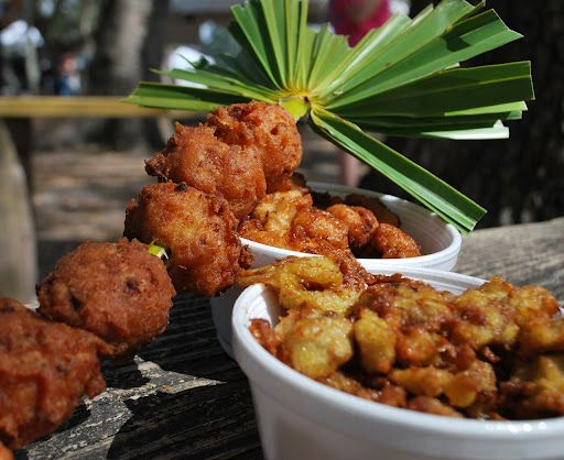 Swamp Cabbage Fritters - I love swamp cabbage, may have to try these!