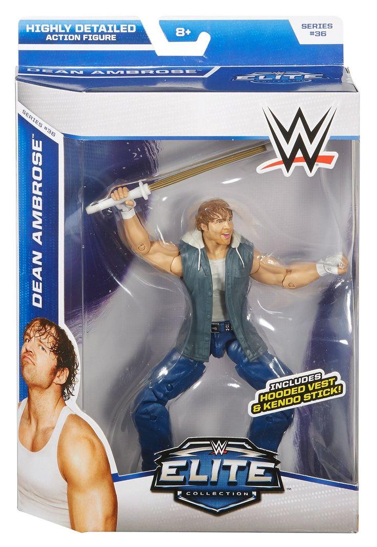 WWE Elite Collection Dean Ambrose Figure: Amazon.co.uk: Toys & Games