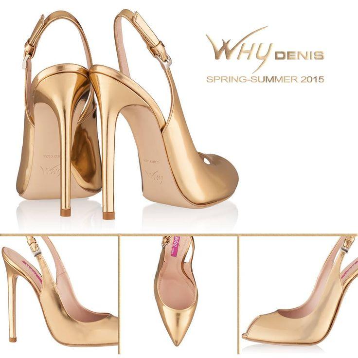 Sandale elegante din piele cu varf ascutit sau decupat, toc 12mm. Le puteti gasi pe www.whydenis.com