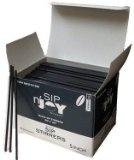 Black Sip Stirrers 5 Inch 1000/box