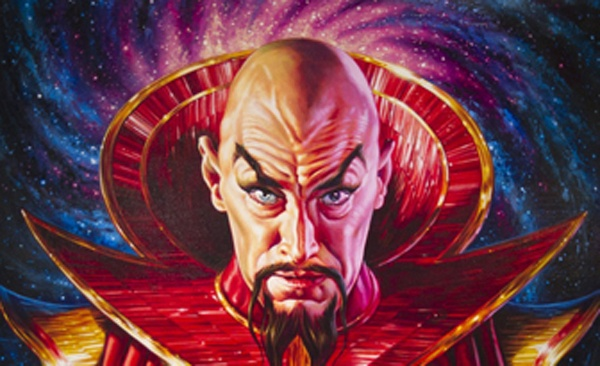 With a name like Ming the Merciless you know he's bad!