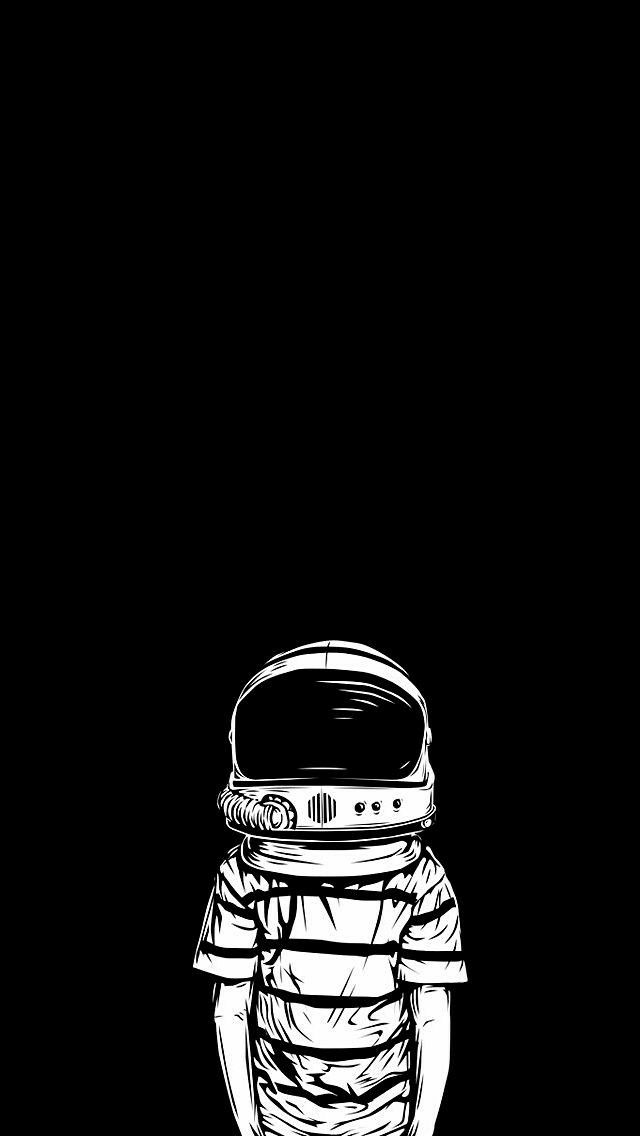 Pin Oleh Reldo Official Di Projects Wallpaper Hypebeast Wallpaper Iphone Hitam Lukisan Galaksi Astronaut black and white wallpaper