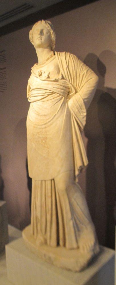 Νικόπολη, η άγνωστη, ελληνική «Πομπηία»,Άγαλμα Αθηνάς δημυγορούσης (2ος αι. μ.Χ), Athena, 2nd century AD, Nikopoli, Greece