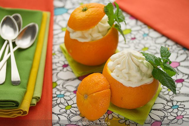 Mousse helado de naranja by webos fritos, via Flickr