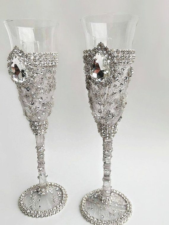 Champayne And Glasses