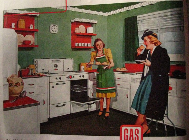 1950 Kitchen Cabinets 118 best vintage kitchens & appliances images on pinterest | retro