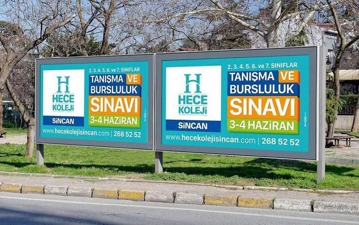 Hece Koleji Billboard Tasarımları #Tanışma ve #Bursluluk #Sınavı #HeceKoleji #Sincan #Ankara #Billboard #Okul #İlkokul #Ortaokul #Anasınıfı #Kolej #Okul #Özelokul #Eğitim http://turkrazzi.com/ipost/1524838078274091305/?code=BUpUCc7hDkp