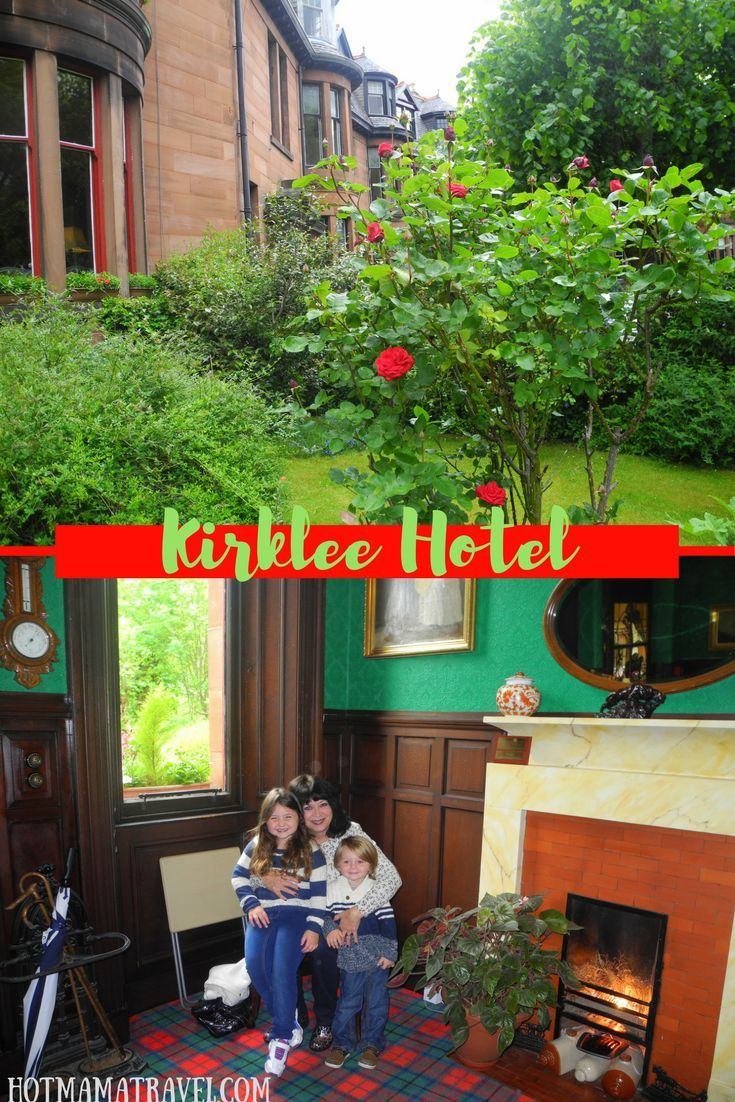 Drop your bags at the Kirklee Hotel in Glasgow Scotland. Click for details.