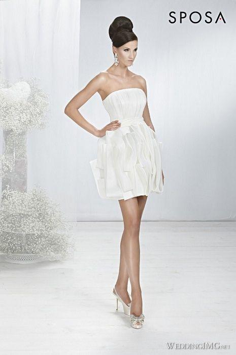 krótkie suknie ślubne 03
