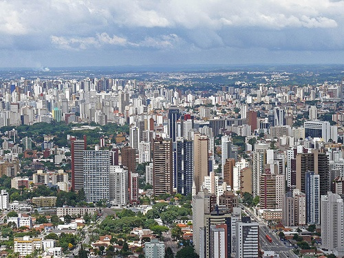 Curitiba, Brazil - Grandpa's birth place - Skyscraper city